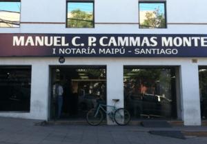PRIMERA NOTARIA DE MAIPÚ