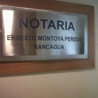 Notaría Ernesto Montoya Peredo
