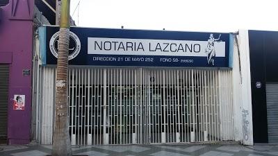 Notaría Rodrigo Lazcano Arriagada