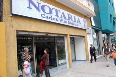 Notaría Carlos Vila Molina