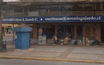 Notaría Álvaro Andrés Gajardo Casañas