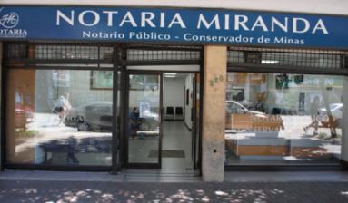 Notaría Carlos Miranda Jiménez
