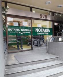 Notaría Esmirna Vidal Moraga