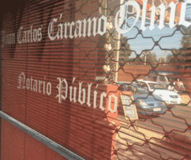 Notaría Juan Carlos Cárcamo Olmos