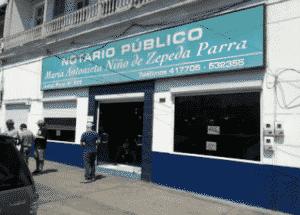 Notaría Antonieta Niño de Zepeda