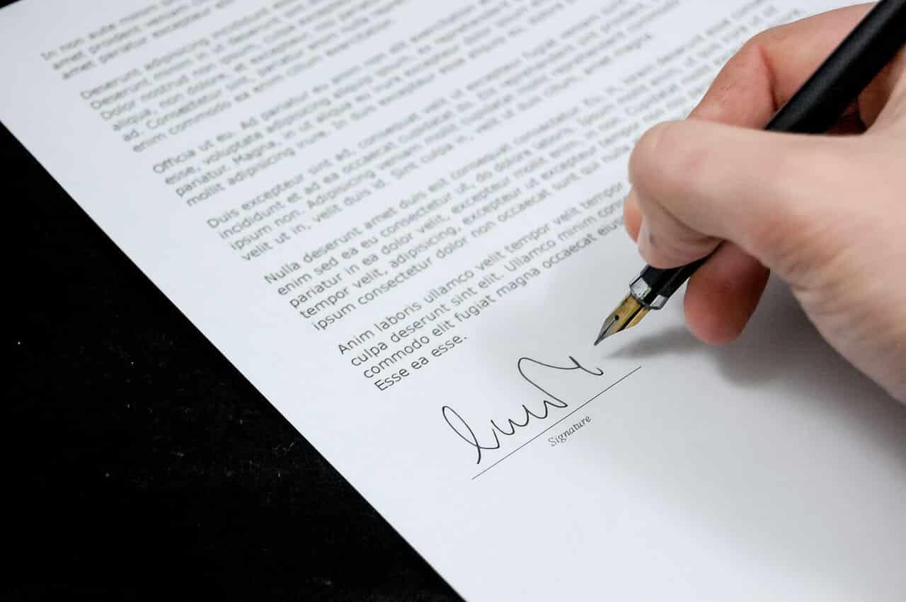 Declaración jurada de cesantía